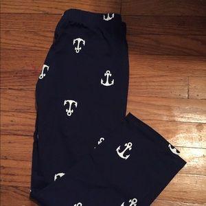 Anchor Capri leggings